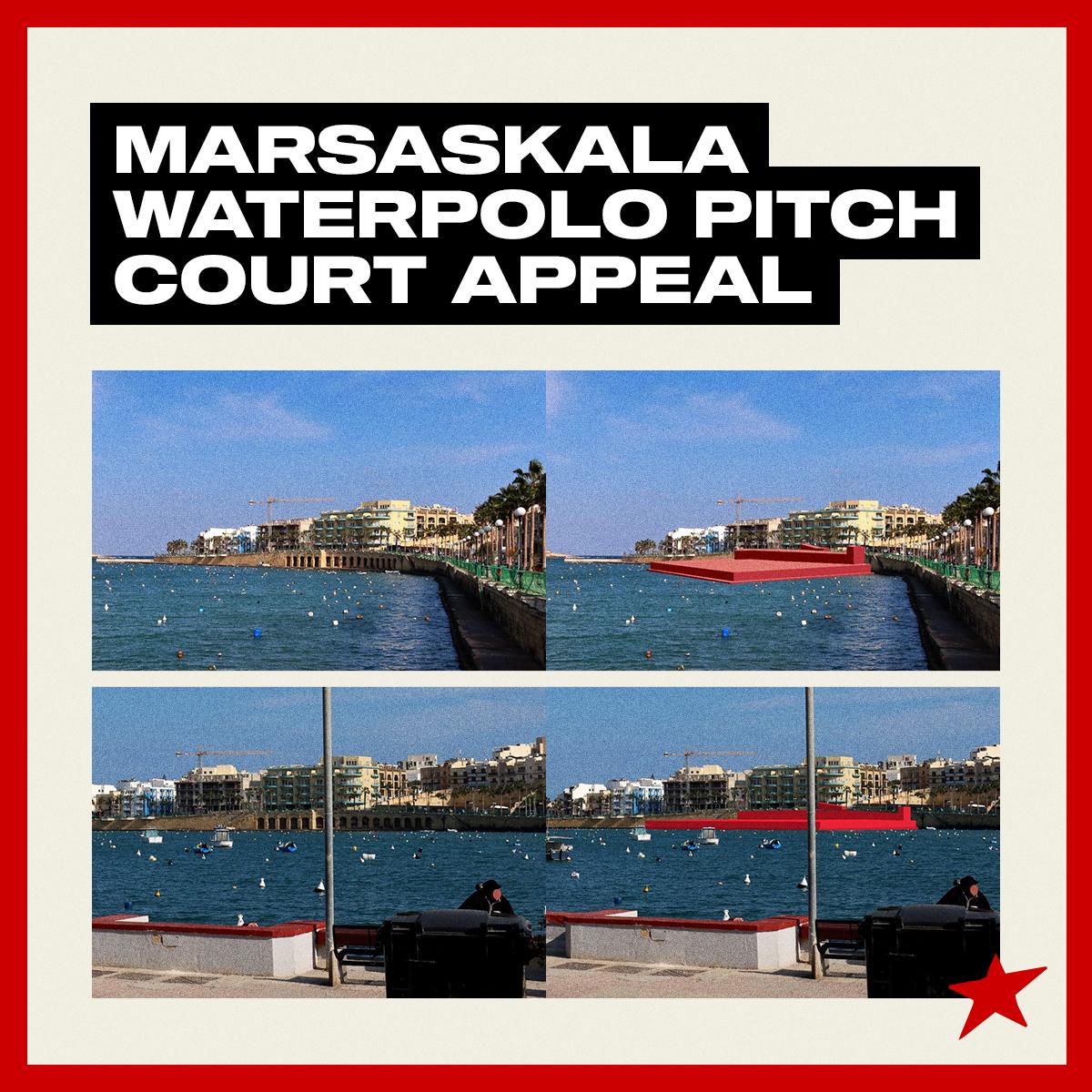 Marsaskala residents and Moviment Graffitti take waterpolo pitch ruling to Court |  Moviment Graffitti Malta.